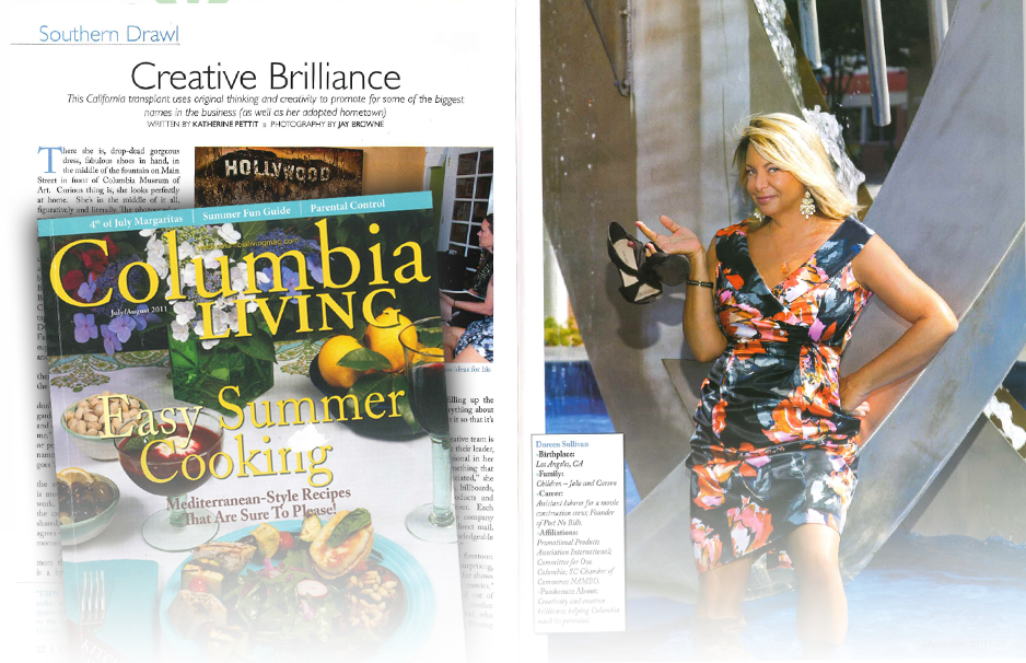 Columbia Living Magazine – Creative Brilliance